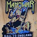 "Manowar - Patch - Manowar - ""Hail To England"" Shaped Patch"