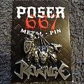 """Revenge - Pin / Badge - Revenge (Col) - """"Harder Than Steel"""" 3D Pin"""