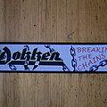 "Dokken - Patch - Dokken - ""Breaking The Chains"" Superstripe"