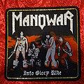 "Manowar - Patch - Manowar - ""Into Glory Ride"" Patch"
