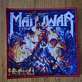 """Manowar - Patch - Manowar - """"Hell On Stage"""" Patch Red Border"""