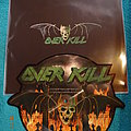 "Overkill ""Feel The Fire"" Picture Shape Vinyl Tape / Vinyl / CD / Recording etc"