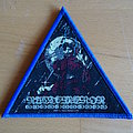 """Nuctemeron - Patch - Nuctemeron - """"Beastfuck"""" Blue Border Triangle Patch"""