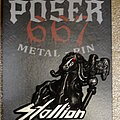 """Stallion - Pin / Badge - Stallion - """"From The Dead"""" 3D Metal Pin"""