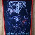 "Asphyx - Patch - Asphyx - ""Embrace The Death"" Patch - Red Border"