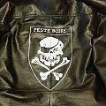 Peste Noire hand painted leather jacket