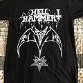 Hellhammer - Satanic Rites shirt