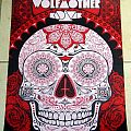 Wolfmother / Kadavar gig poster - Mexico City