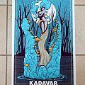 Kadavar gig poster (official), Mexico City 2015