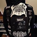 Black Metal battle vest - and Pentagram