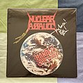Nuclear Assault - Tape / Vinyl / CD / Recording etc - Nuclear Assault - Handle With Care Vinyl. 1st English edition signed by John...