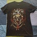 Slayer Final Tour shirt Mexico's date.
