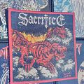 Sacrifice - Tormented by fire Woven Patch