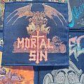 Vintage Mortal Sin - Mayhemic Destruction woven patch