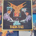 Toxik - Think This! Woven patch
