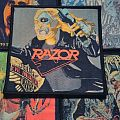 Razor - Evil Invaders Mexican bootleg woven patch