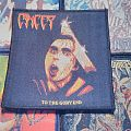 Cancer - To The Glory End woven patch