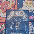 Vintage Metallica - Ride The Lightning ( Black Boarder) bootleg  Patch