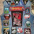 Traditional Metal Vest, Back Complete Battle Jacket