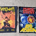 Manowar - Patch - Vintage 90s Backpatches