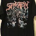 Suffocation - TShirt or Longsleeve - Suffocation - Breeding The Spawn + Biohazard-Urban chaos-tour-shirt