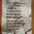 Darkened Nocturn Slaughtercult setlist (barcelona)