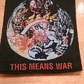 Tank- This Means War (Woven Patch)