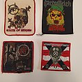Slayer - Patch - Rare vintage and bootleg patches