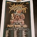 Cattle Decapitation Tour Poster 2017