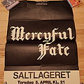 Mercyful Fate - Other Collectable - Mercyful Fate Saltlageret 5 april 1984 concert Rare original