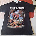 Iron Maiden Book of soul 2017 Canadian date tour shirt large