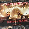 Iron Maiden - Other Collectable - Iron Maiden Beast on the road poster Tour 1982