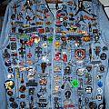 Battle Jacket - Levi Jacket with many rare pin badges-update Feb 2012