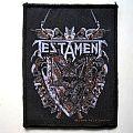 TESTAMENT patch t43 new   8 x 10 cm