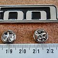 Tool  metal shaped pin speld  badge
