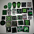 type o negative various patches