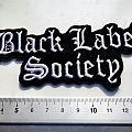 BLACK LABEL SOCIETY new shaped patch  5x12,5  cm