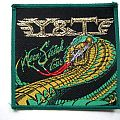 Y&T VINTAGE 1983 patch y2 gold print 10x10 cm  new