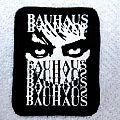 BAUHAUS  80'S  patch nieuw