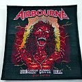 AIRBOURNE patch a214 new    10x10 cm