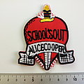 Alice Cooper shaped patch c90 --7 x 8.5 cm