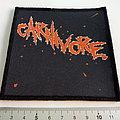 Carnivore patch c220  10 x 10.5 cm