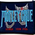 MOTLEY CRUE  very rare vintage 1986  patch m116 new    8X9  cm