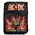 AC/DC  vintage 79'/80[s patch  7.5X10 CM used 61 7.5x10cm