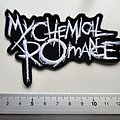 My Chemical Romance - Patch - My chemical romance shaped  patch M16