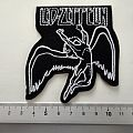 Led Zeppelin shaped patch 45