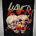 Slayer backpatch decade of agression official 1991 patch bp504