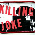 KILLING JOKE  patch k62 new  10X7.5
