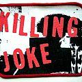 KILLING JOKE  patch k62 new  10X7.5