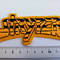 Stryper shaped patch s322